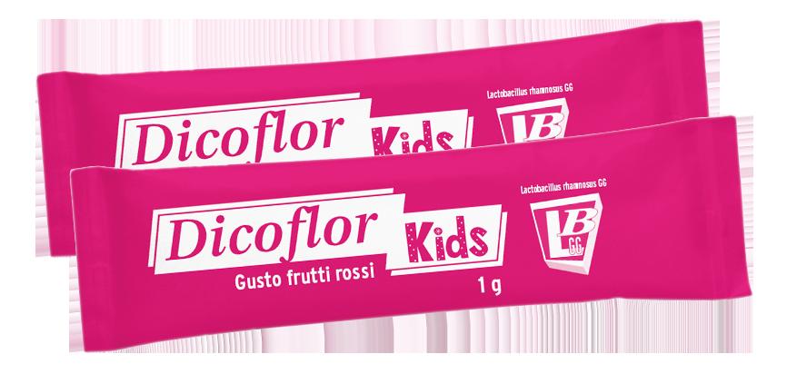 dicoflor kids frutti rossi